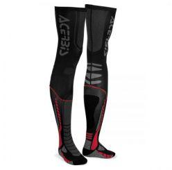 Calze Moto Acerbis X-LEG PRO SOCKS Nero Rosso
