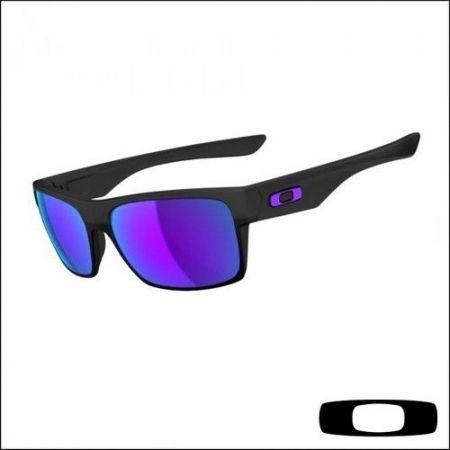68e8c13d9eb Oakley Crankcase Sunglasses Matte Black-Violet Iridium Lens ...