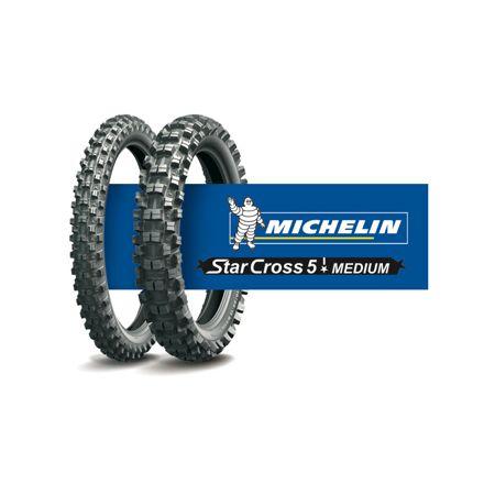 MOTOCROSS MICHELIN sx5 Med dietro PNEUMATICI GOMME 110//90-19 SUZUKI RMZ KXF 250 450